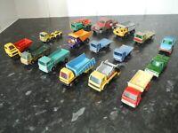 Job Lot 70+ Matchbox lesney whizzwheels Vintage Diecast Vehicles