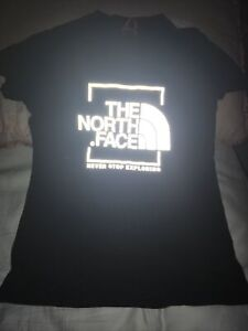 The North Face Black Boys T-shirt Size Large Reflective Age 11-12
