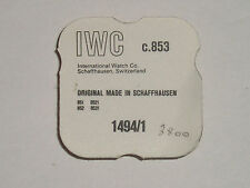 IWC 853 852 851 8521 8531 automatic power transmission complete 1494/1