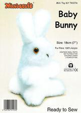 Bebé Azul Bunny Mini Juguete kit de elaboración de Minicraft-Listo Para Coser Azul Bebé Conejo