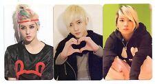 LOT3 NU'EST REN Official Photo Card Sleep Talking Hello Ver.A + B NUEST