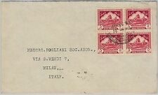 58762  -  IRAQ  - POSTAL HISTORY: COVER to ITALY  1947