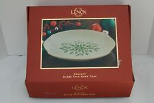 "Lenox ""Bless This Home"" Christmas Time Tray"