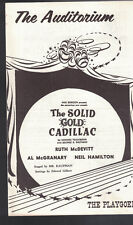 The Solid Gold Cadillac Playgoer Auditorium Theatre Rochester 1950s