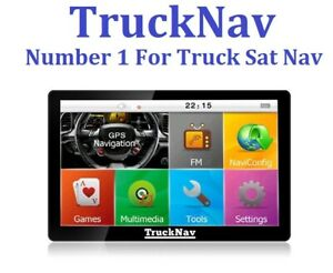 Exclusive TruckNav Sat Nav With + 16gb SD Card with 2021 Mapping + Back up maps