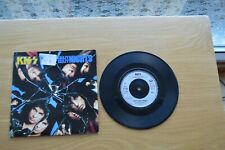 """Kiss – Crazy Crazy Nights 7"""" Vinyl Single in Picture Sleeve"""