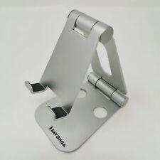 SAVONGA Aluminium Halterung Ständer für Handys und Tablet mit Multi-Winkel Ipad