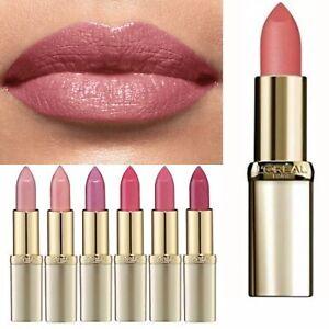 L'Oreal Pink Gold Lipstick Shimmer Satin Color Riche Rose Gold