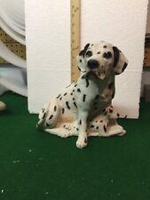 "Dalmatian Bank Vintage Bank Makers Of America Dalmatian Dog & pups Figurine 10"""