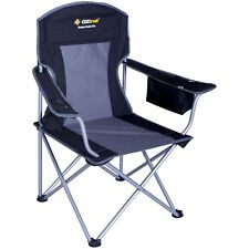 OZtrail ESCAPE COOLER FOLDING CAMPING CHAIR 120Kg Capacity,Wide Arm,Drink Holder