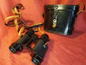 Vintage Swift 'Tecnar' 8 x 30 Binoculars Coated Optics Garden Bird Watching