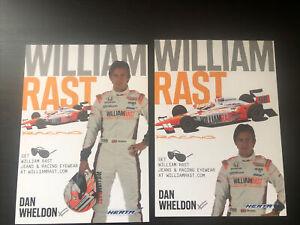 Dan Wheldon 2 Different 2011 Indy 500 Handouts