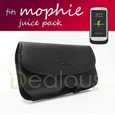 LEATHER POUCH CASE For SAMSUNG GALAXY S3 i9300 fits MOPHIE JUICE PACK CASE ON