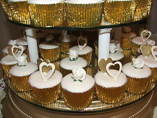 50 x Gold Foil Muffin / Cup Cake cases