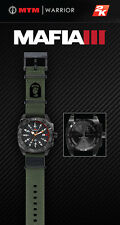 Mafia III 3 MTM WARRIOR Watch - Real Military Grade, Carbon Fiber Dials - LOGO