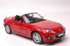 Mazda MX-5 car model in scale 1:18 Red