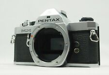 [AS IS ] Pentax MX Chrome 35mm SLR Film Camera Body From Japan #10548