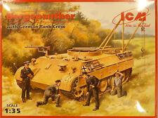 ICM 1/35 Bergepanther German Tank with Crew Model Kit 35342
