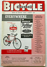 1969 Bicycle Journal Magazine NEW SCHWINN STING-RAY APPLE KRATE/Many Bike PHOTOS