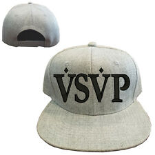 Heather gray wool blend VSVP Vintage Snapback Cap Hat