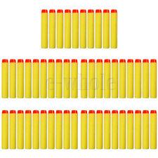 7.2X1.2cm Gun Refill Bullet Darts for Nerf N-strike Blasters Yellow Hot Sell TW