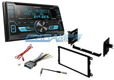 NEW KENWOOD CAR STEREO W/ INSTALL DASH KIT AND WITH USB & AUX INPUTS & SIRIUS XM
