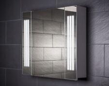 80 cm Spiegelschrank LOFT80 Spiegel Badezimmerschrank Beleuchtung Steckdose