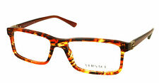 New Versace MOD 3171 Eyeglasses Brown Honey Color 5003 Authentic Free Ship 55mm