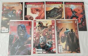 ULTIMATES 3 (2007 Marvel) -- #1 2 3 4 5 -- FULL Series / Set + Annuals