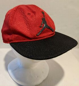 Nike Air Jordan Jumpman #23 Snapback Cap Youth 4/7 Red And Black NBA Hat