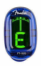 Fender FT-1620 California Series clip on Tuner 023-9981-002 Lake Placid Blue NEW