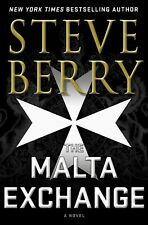 The Malta Exchange : A Novel by Steve Berry (2019, Hardcover)