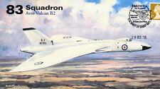 AV600 Avro Vulcan 83 Squadron RAF cover Final Flight XH558 28 Oct 2015 #2