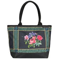 Borsa COLORATO NERO ARTE DA DONNA SHOPPER BAG EVA Maria Nitsche Bonny Bouquet 4210