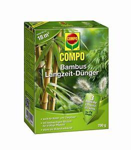 Compo Bamboo Long Run Fertilizer, 700 G