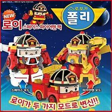 Academy Robocar Poli Space Fireman Pack Roi Transformer Robot