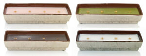 WoodWick Outdoor Candle Collection ~ 4 Wooden Wicks ~ Wood Textured Ceramic