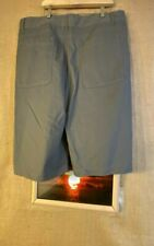Browning men's solid flat front gray shorts size 40