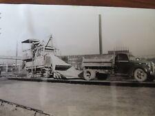 VTG Film Prints Highway Road Construction Pontiac, Michigan 1940s Lot of 8 #9012