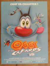 Poster Oggy And The Cockroaches Drawing Cartoon Olivier Jean-Marie