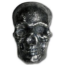 1 kilo Silver - 3D Skull - SKU #94898