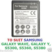 Samsung Galaxy Y Wave S5360 S5300 S5380 1400mAh High Quality Replacement Battery
