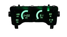 1997-2006 Jeep TJ Digital Dash Panel Green LED Gauges Lifetime Warranty