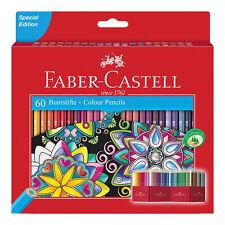 Faber-Castell Castle 111260 - Buntstift 60er Kartonetui