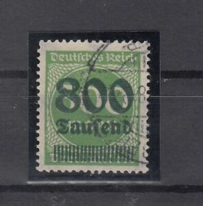 DA7862/ GERMANY REICH – MI # 307 USED – CV 2395 $