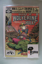 9.2 NM-  NEAR MINT-  WHAT IF WOLVERINE  HULK  # 31  US EDITION OW/CP  YOP 1982