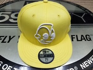 59fifty NEW ERA   KID ROBOT   CAP LIMITED EDITION yellow