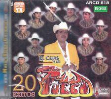 El Cejas Y Su Banda Fuego 20 Exitos CD New Sealed