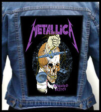 METALLICA - Damaged Justice   --- Giant Backpatch Back Patch