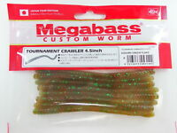 "Megabass - TOURNAMENT CRAWLER 4.5"" #08 KASUMI GREEN FLAKE"